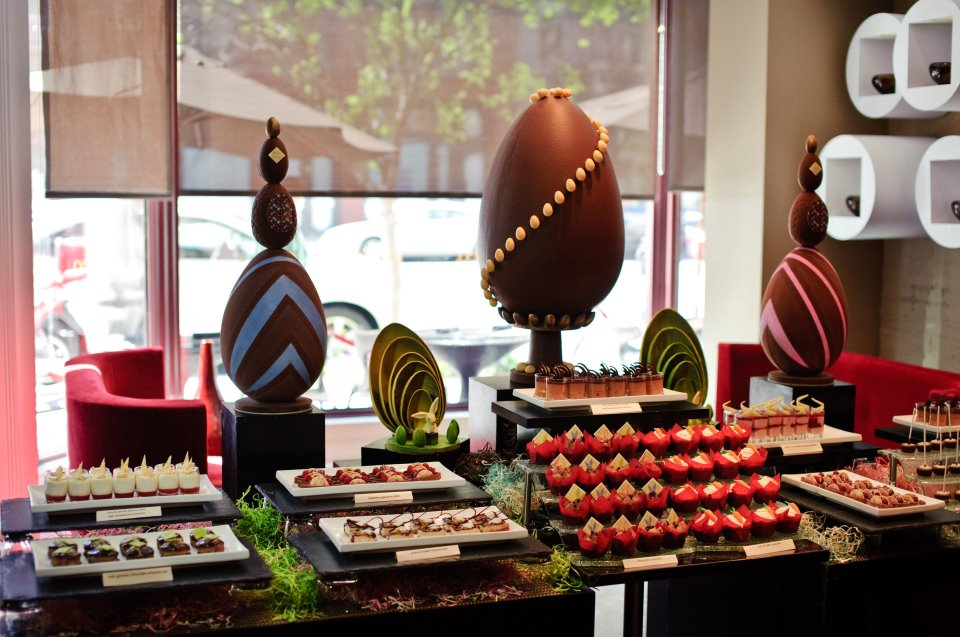 Buffet de chocolate