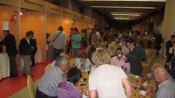 21.ª Muestra Gastronómica de Andorra en Ordino